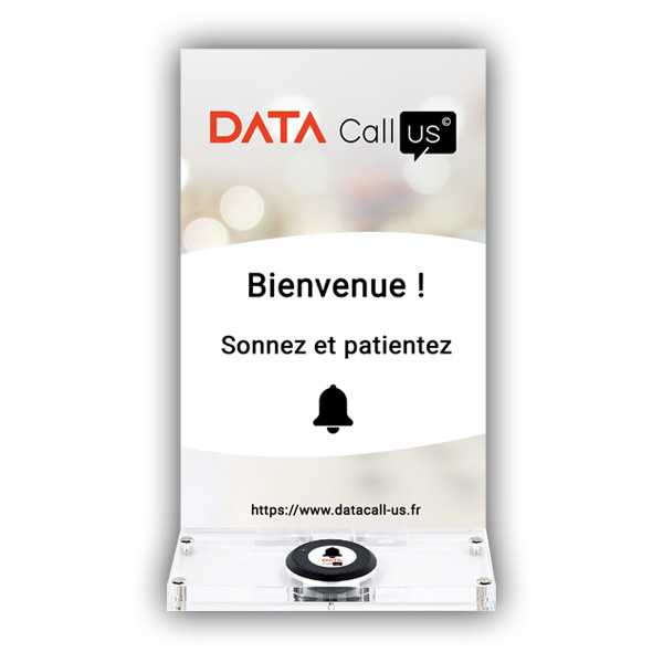 Le support pour bouton d'appel Data Call Us